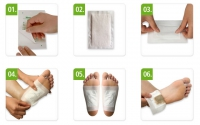 "Пластырь для удаления токсинов: ""Bamboo Vinegar Detox Foot Patch"""
